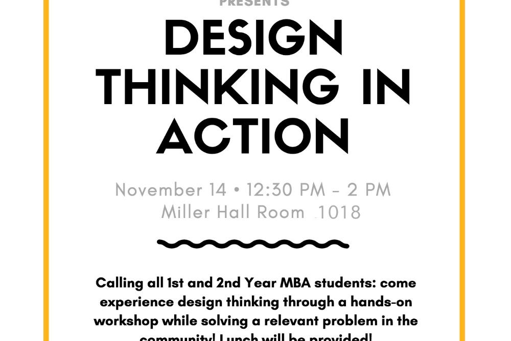 Design Thinking in Action Poster
