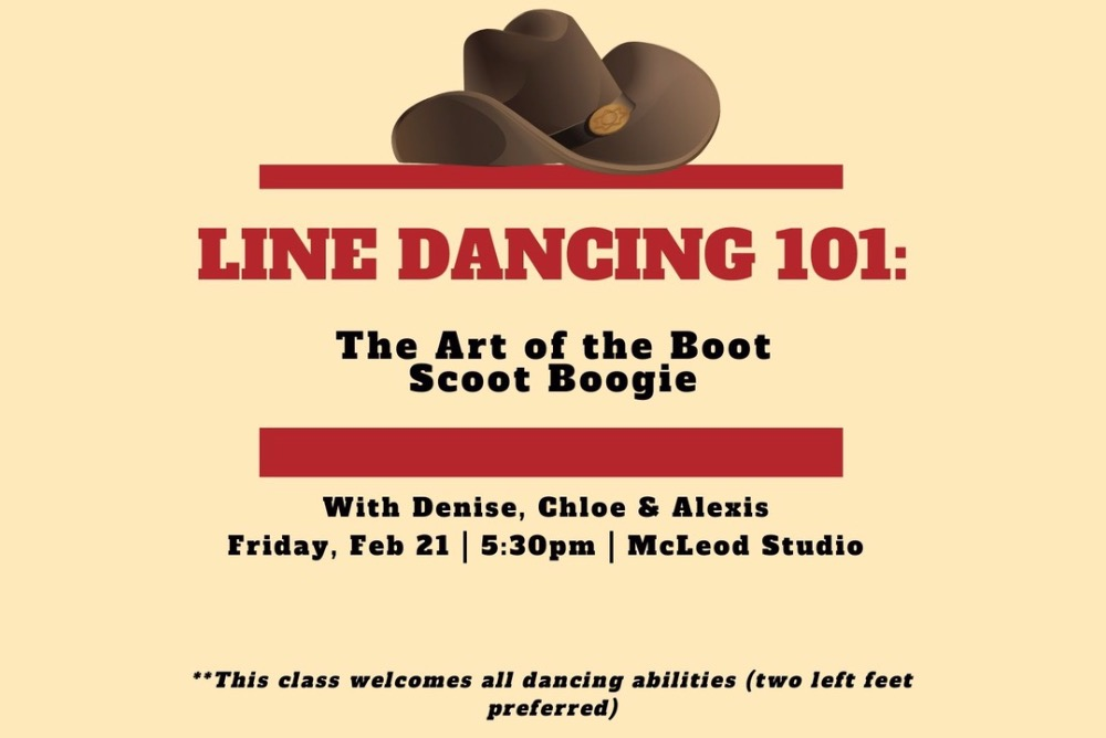 With Denise, Chloe & Alexis - This class welcomes all dancing abilities (two left feet preferred)!