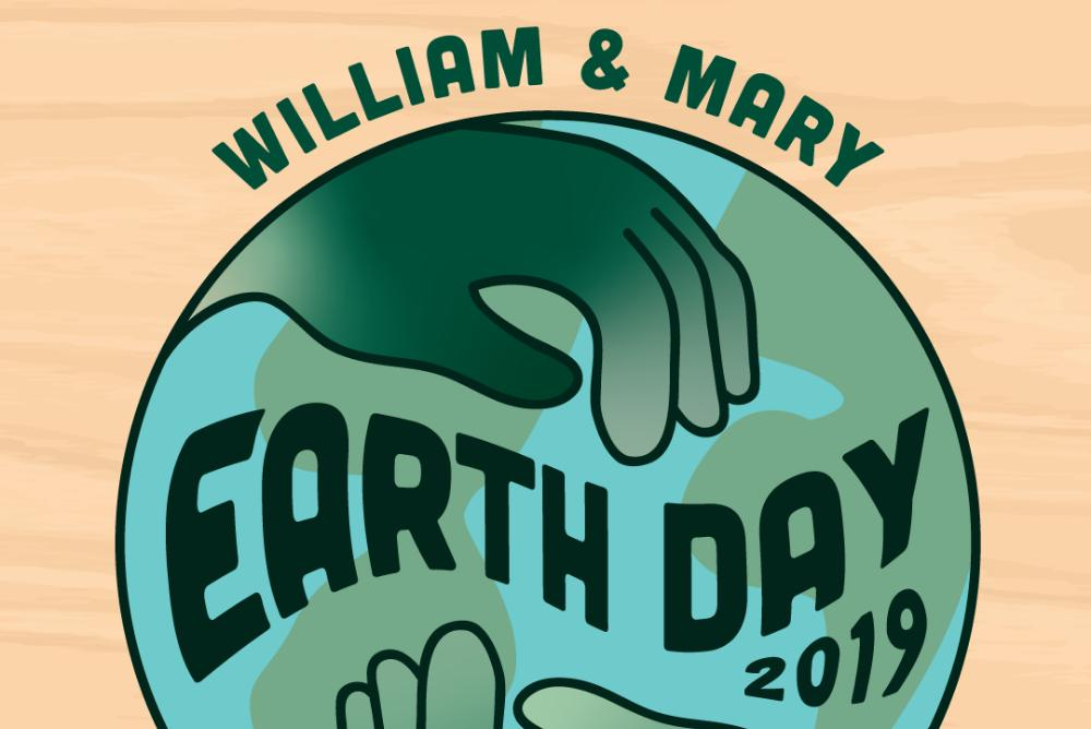 Illustration featuring green hands holding earth, text reading