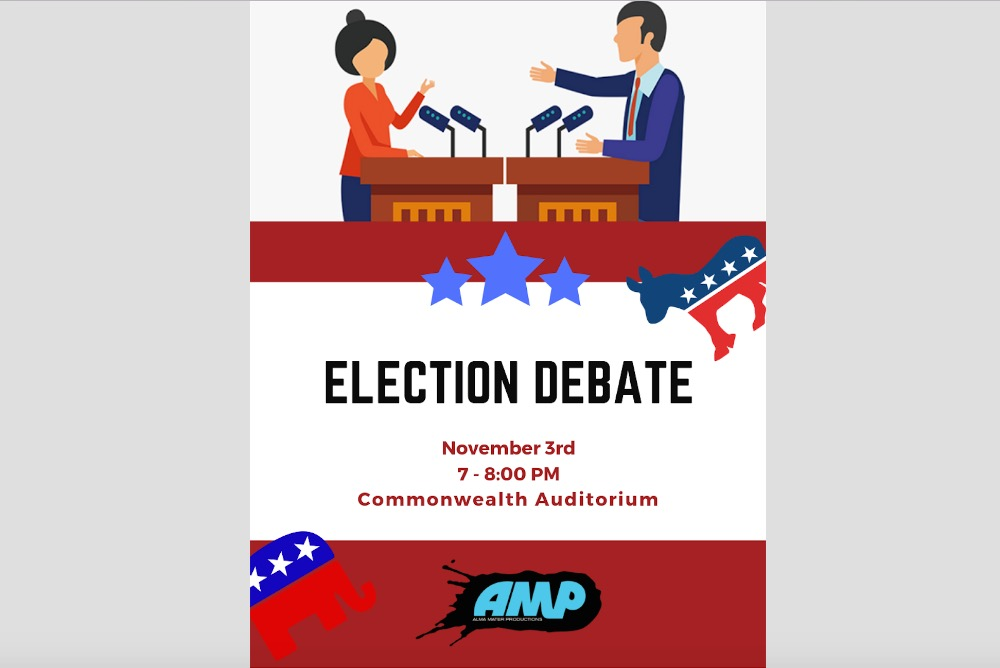 Election Debate Flyer