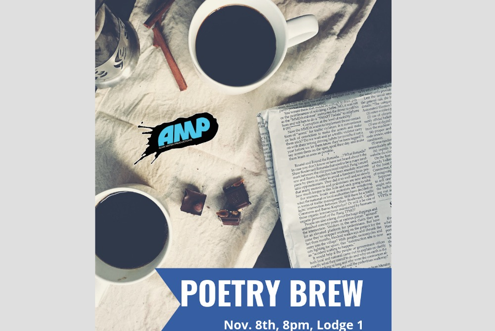 Poetry Brew Flyer