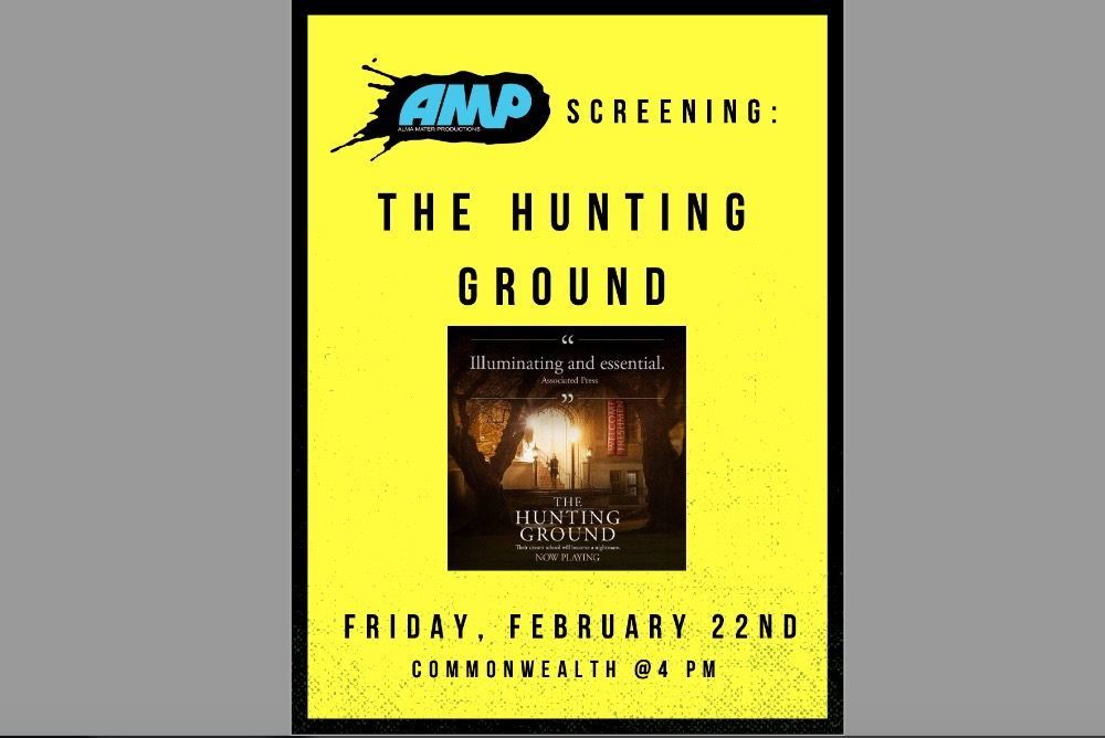The Hunting Ground flyer