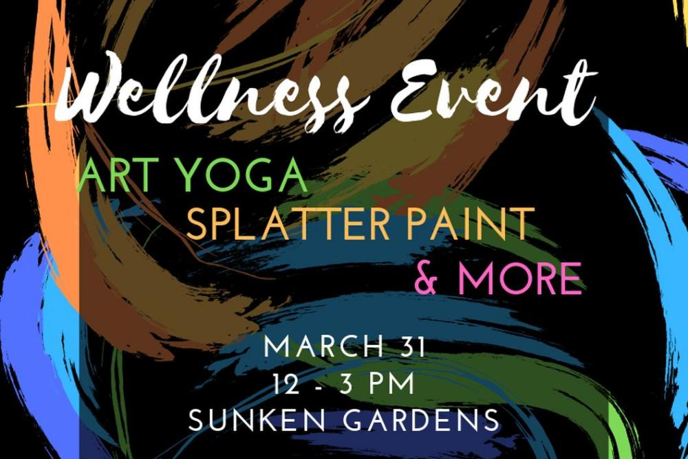 Wellness Event flyer