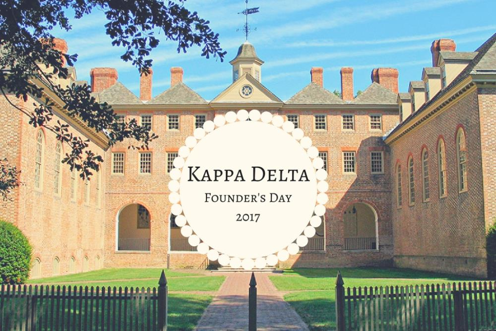 Kappa Delta Founding
