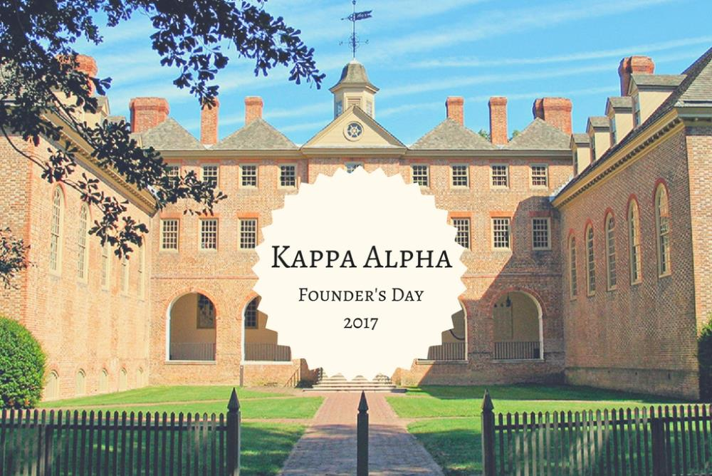 Kappa Alpha Founding