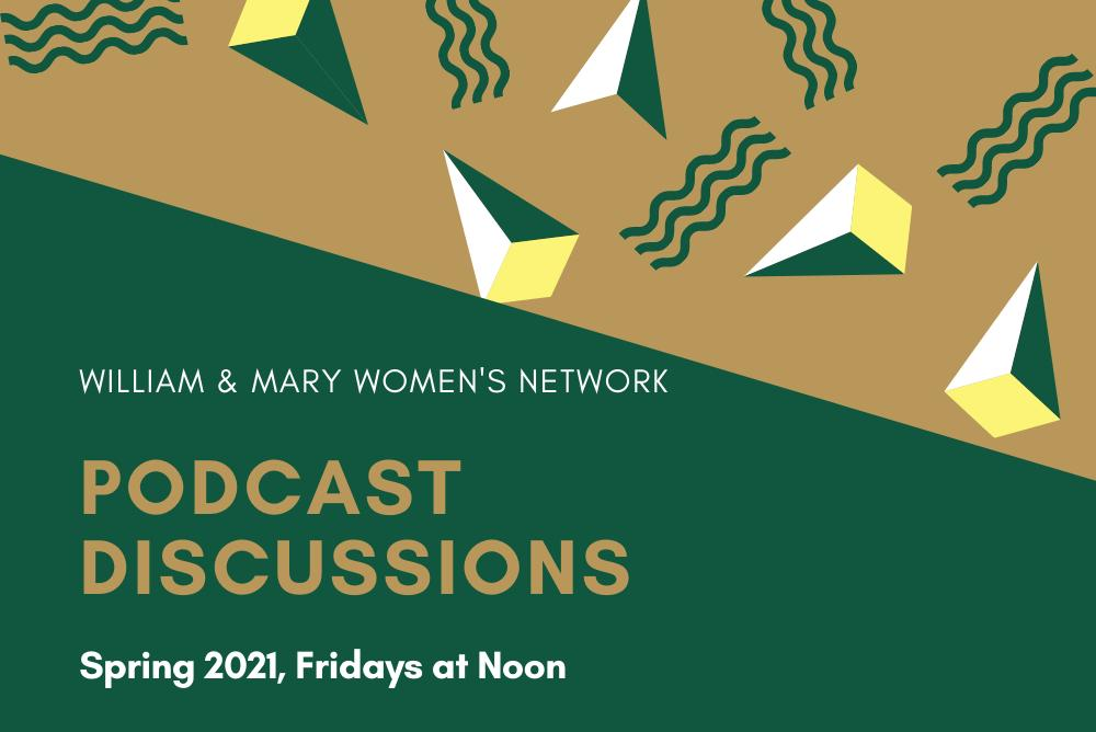 podcast discussion flyer