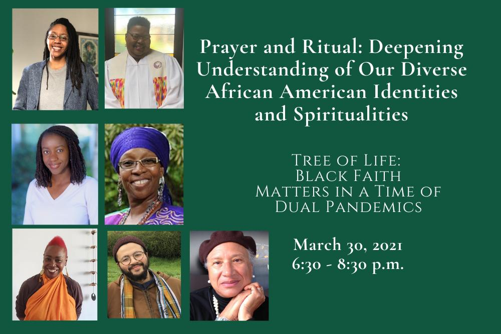 tree of life march event flyer