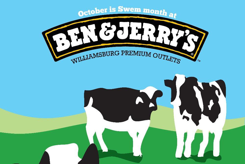 Swem Month at Ben & Jerry's