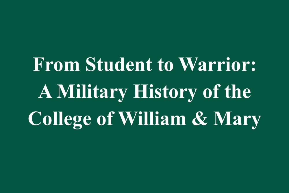 From Student to Warrior