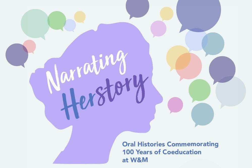 Oral Histories Commemorating 100 Years of Coeducation at W&M