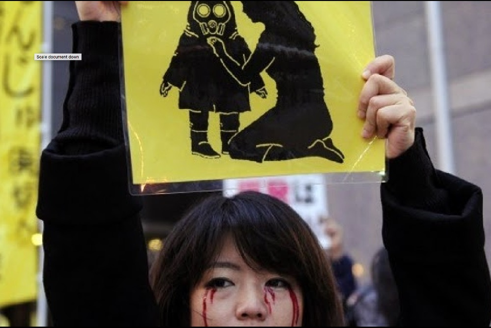 Demonstration against Nuclear Power in Japan