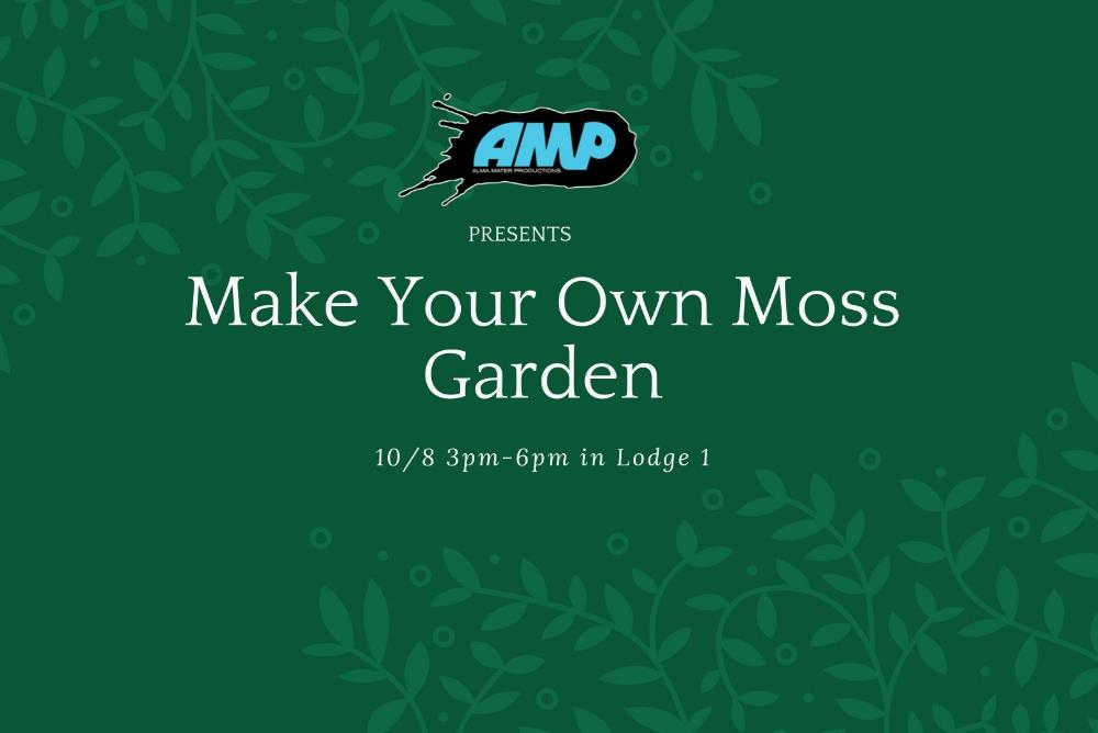 Make Your Own Moss Garden