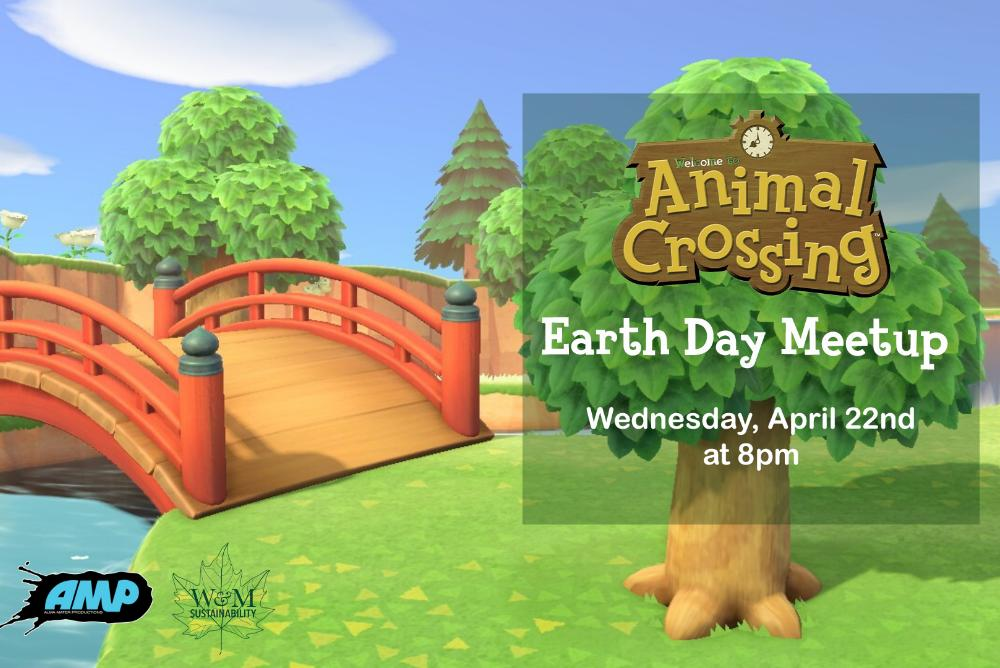 Animal Crossing Earth Day Meetup