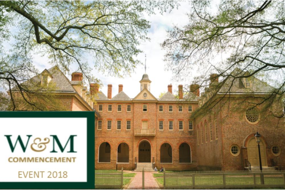 W&M Commencement 2019 Event