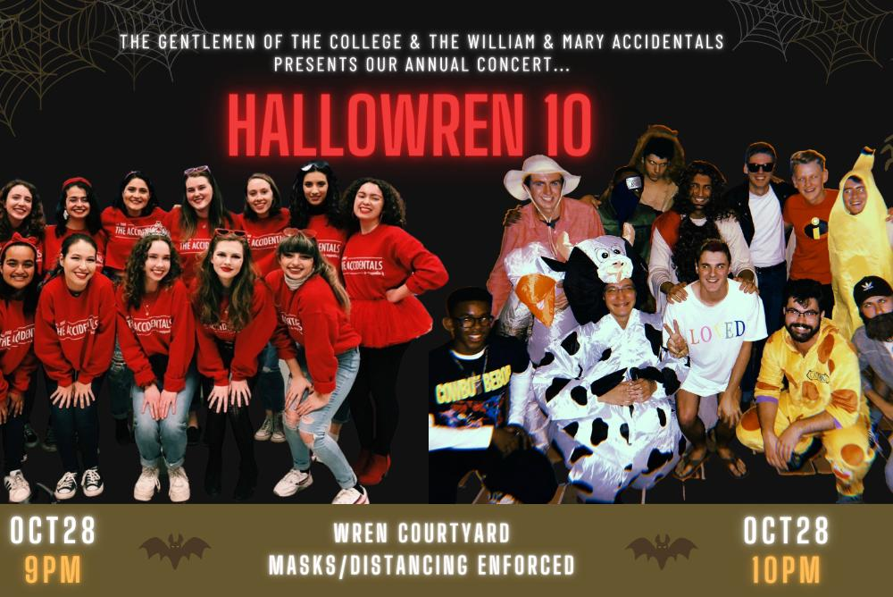 W&M Gents/Accis - Hallowren 10 Flyer