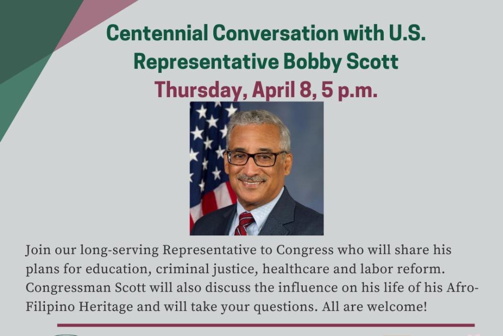 Congressman Bobby Scott