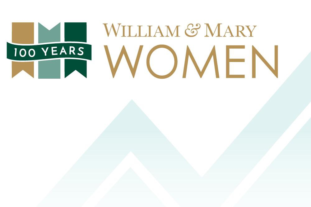 In partnership with the 100 Years of Women at W&M