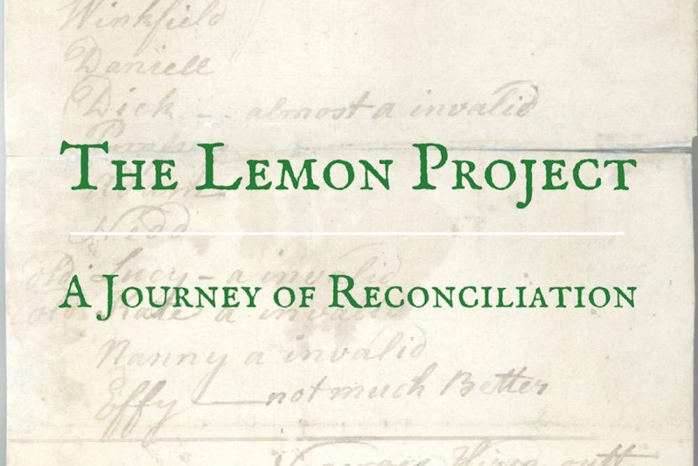 The Lemon Project - A Journey of Reconciliation