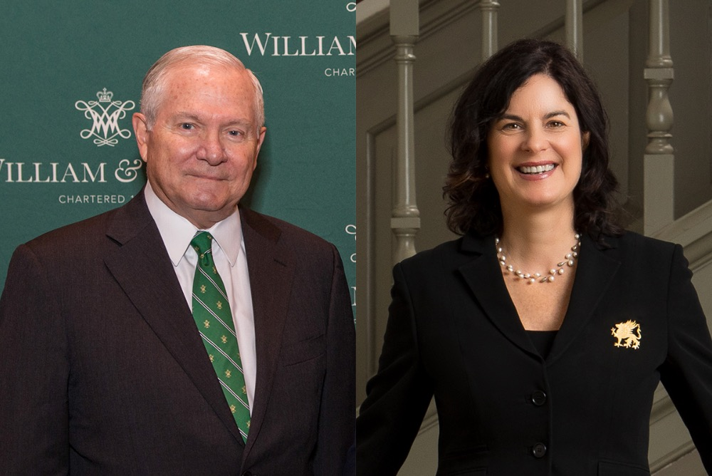 Chancellor Gates and President Rowe