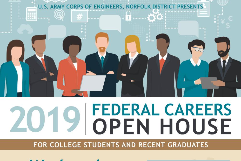 2019 Federal Careers Open House - For College Students and Recent Graduates