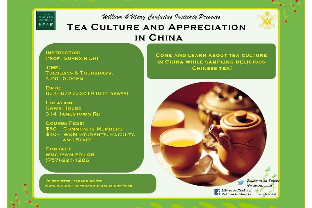 Tea Culture & Appreciation in China