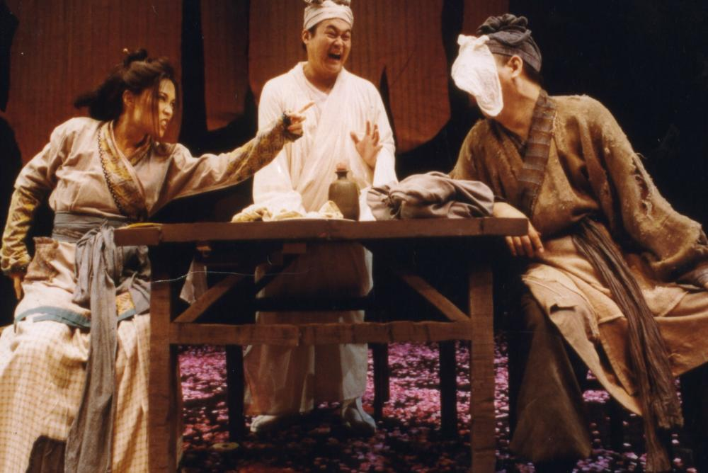 Secret love in Peach Blossom Land in 1999's version - Scene 14 (Later Wuling)