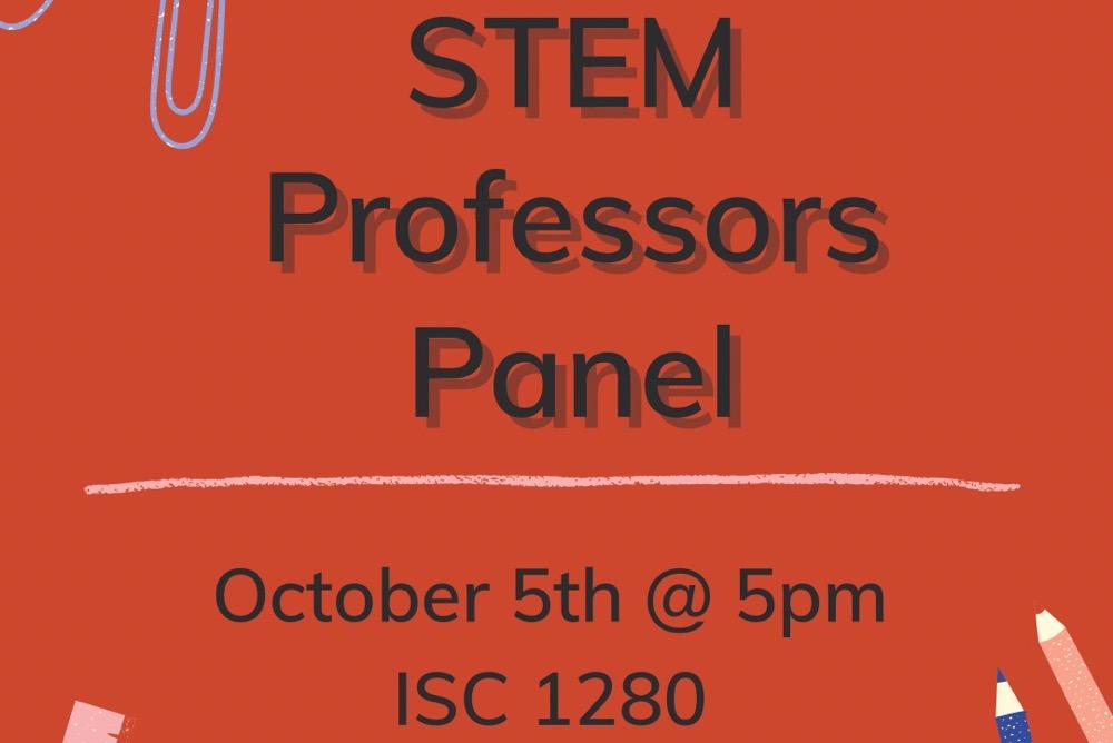 STEM Professors Panel Minorities in Medicine