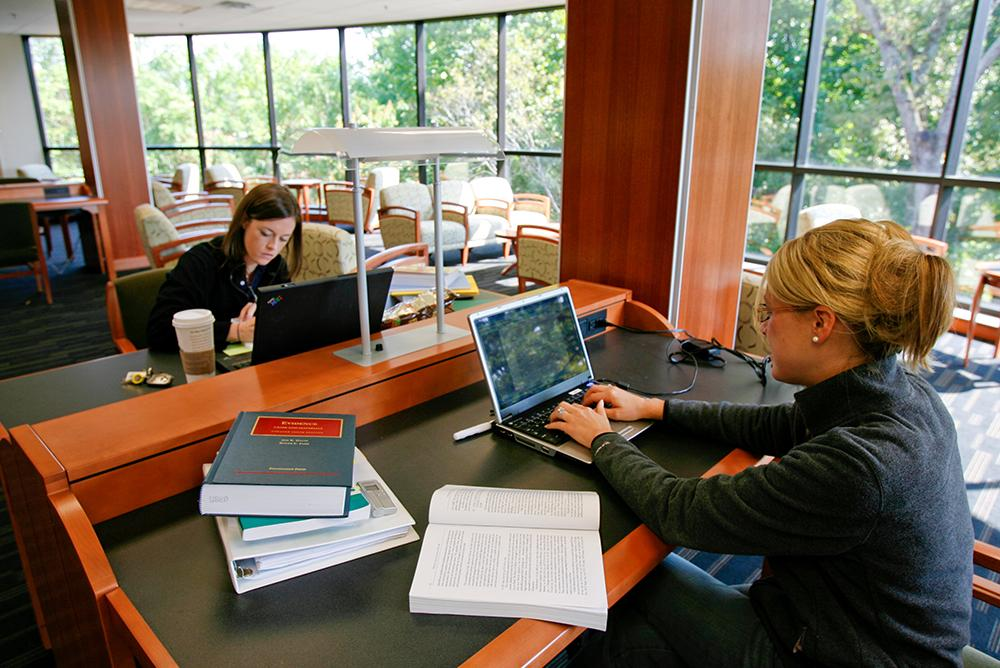 students, indoors, inside, people, law school, computers, libraries, wolf law library, books, studyi