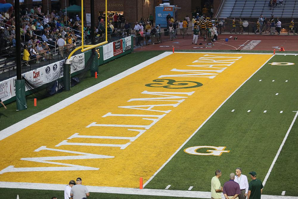 outdoors, outside, stadiums, zable, football, athletics, sports, bleachers, fall, autumn, end zones, logo